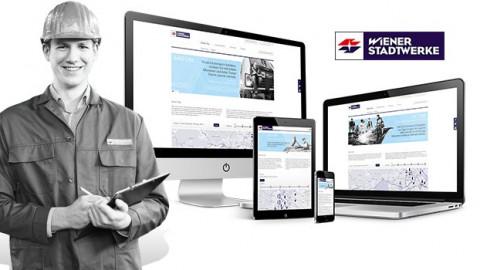 WIENER LINIEN, WIEN ENERGIE, WIENER STADTWERKE - WEBPORTAL