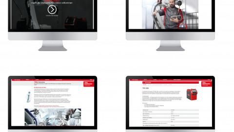 Fronius Kampagne für TPS/i Robotics