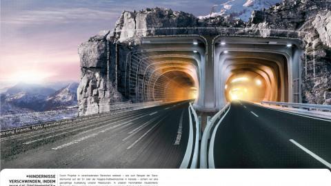 Anzeige Tunnel