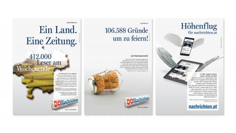 Lies was G'scheits! Markenkampagne
