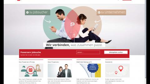 Powerserv Website