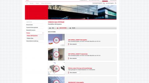 Glas Marte Corporate Website