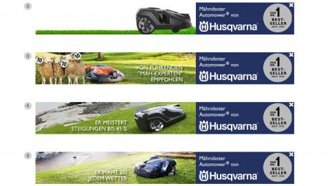 Husqvarna Automower Online Kampagne