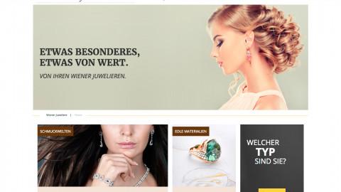 Wiener Juweliere - Website Relaunch