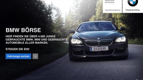 Mobile App für die BMW Gebrauchtwagenbörse
