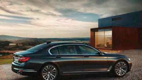 BMW 7er Print Sujet