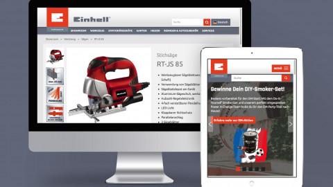 Einhell Werksverkauf / B2C Online Shop