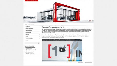 Website Relaunch Internorm
