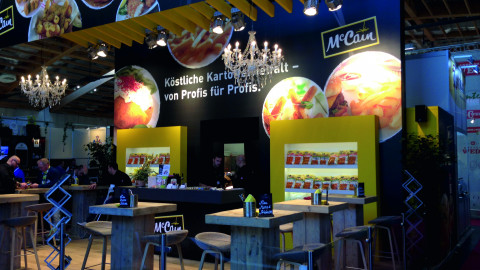 McCain Messestand