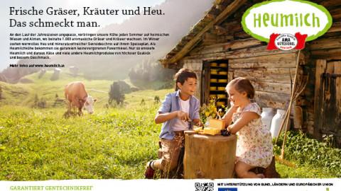 ARGE Heumilch Jahreskampagne 2015