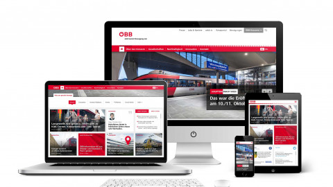 ÖBB - Redesign Corporate Web & Konzern Portal