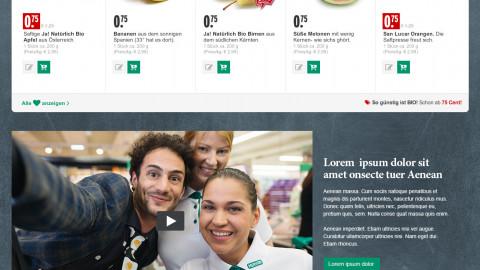 OnlineShop Startseite