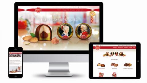 Reber Website & Online Shop