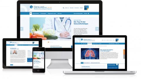 Gesundheitsportal - Website Relaunch