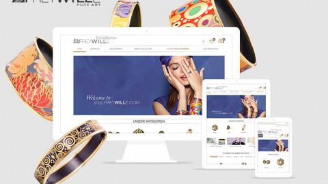 Webshop Freywille