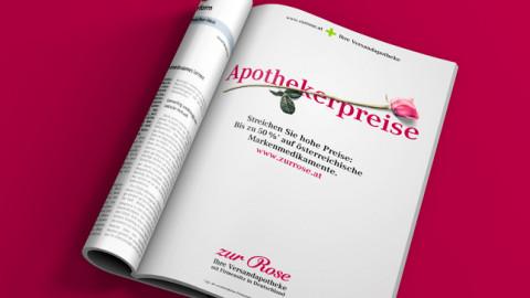 "Imagekampagne ""Zur Rose"""