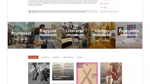 Österreichische Nationalbibliothek - Website Relaunch