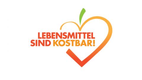 Logo: Lebensmittel sind kostbar!