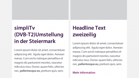simpliTV - Newsletter Design