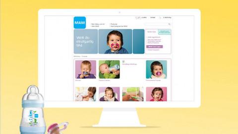 Social Media Kampagne smilefor.mambaby.com