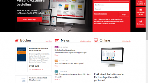 Corporate Website LexisNexis