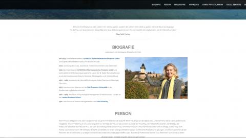 Webentwicklung - Mag. Ruth Fischer
