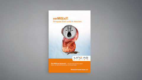 LINZ AG Sauberkeitskampagne