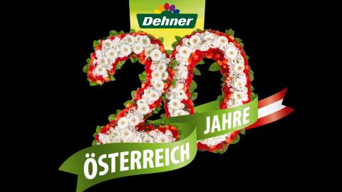 20 Jahre Dehner Österreich
