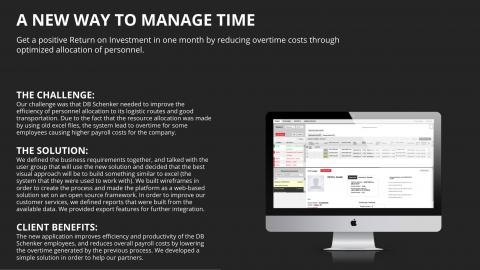 HR Optimisation tool