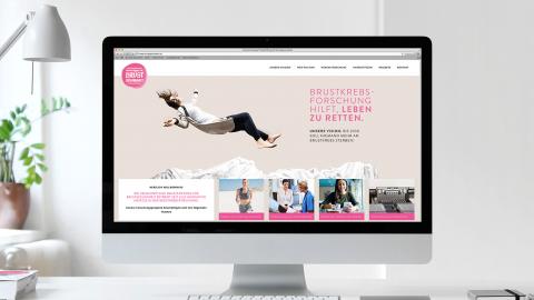 CSR Kampagne zur Unterstützung der Brustkrebsforschung