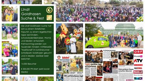 Lindt Goldhasen-Fest und Goldhasen-Suche