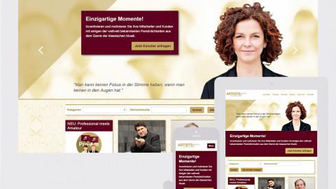 ARTISTS.Selection - Premium Künstler Vermittlung