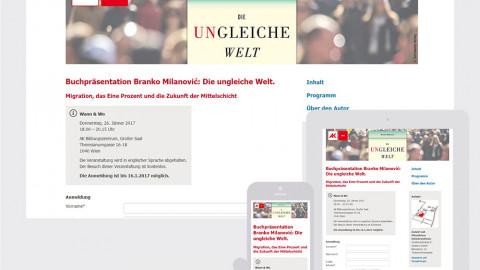 Einladungsmanagement für die Arbeiterkammer Wien