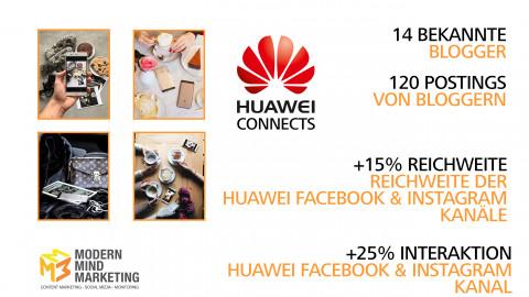 Influencer Marketing HUAWEI Austria 2016/2017