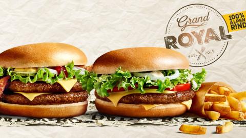 McDonald's Grand Royal - Screens