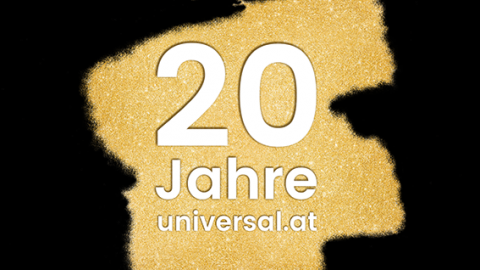 20 Jahre universal.at
