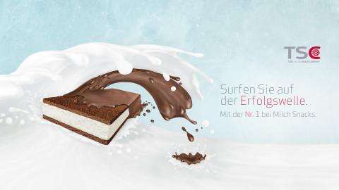 Surfen Sie auf der Erfolgswelle - Mit der Nr1 bei Milk Snacks!