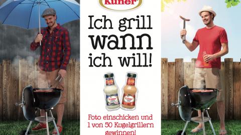 Kuner Grillsaucen Kampagne