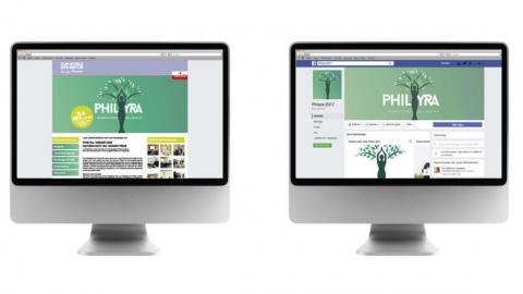 Website & facebook