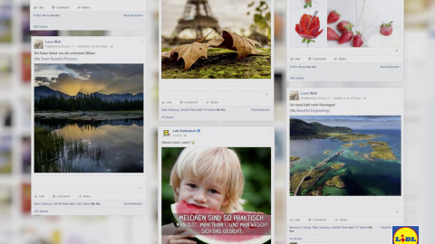 Die Lidl Österreich Social Media Präsenz