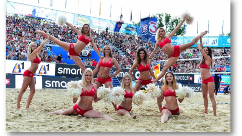 ESKIMO Sponsoring Auftritt Beach Volleyball Events