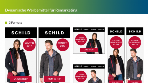 SCHILD Remarketing Banner