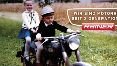 Plakat Motorrad