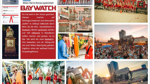 Baywatch Launch Kampagne