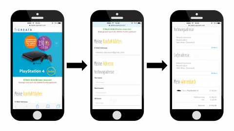 Payment-Anbindung und Datenvalidierung für Loyalty-Plattform für einen internationalen Fast Food Konzern