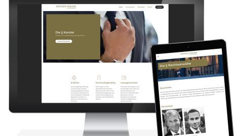 Krüger || Bauer Corporate Design Relaunch