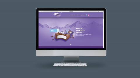 Milka Schokosnack Website