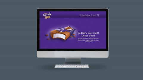 Cadbury Choco Snack Website