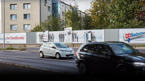 OÖ Nachrichten - Plakat-Dominanz Linz