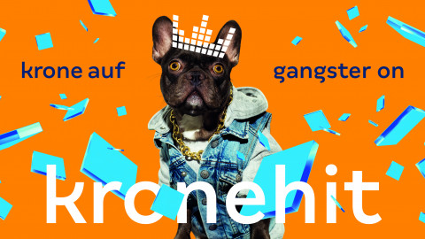 krone auf gangster on